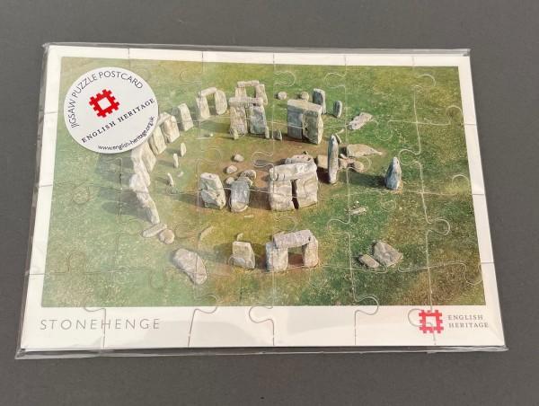 Stonehenge Puzzlekarte